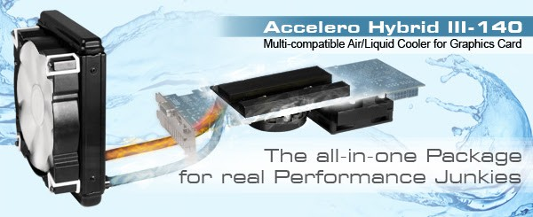 Arctic Accelero Hybrid III-140