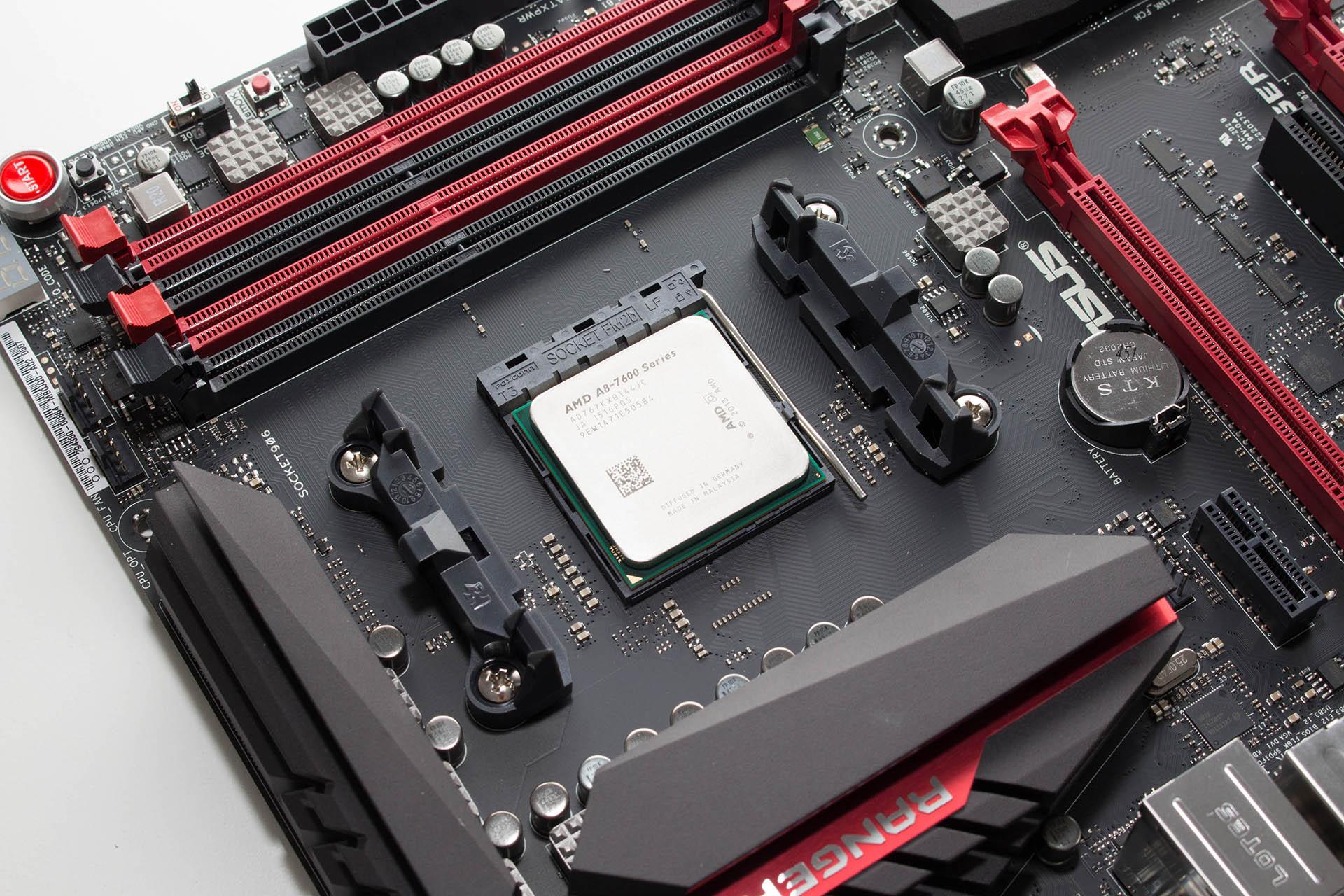 AMD A8-7670K test