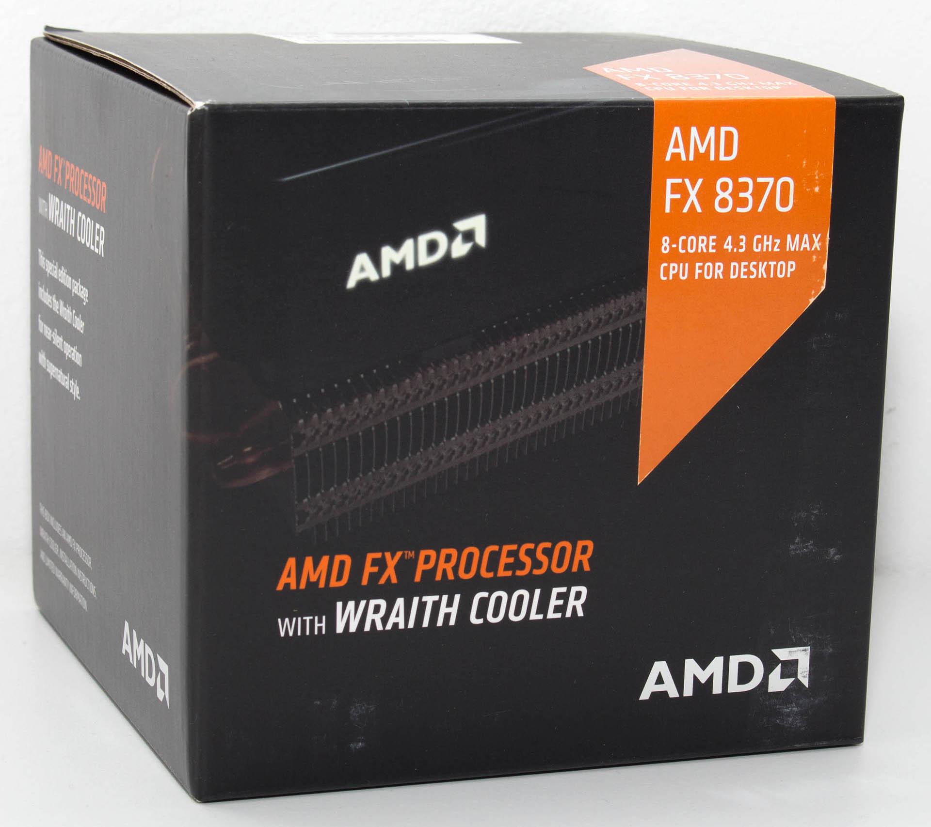AMD FX-8370 & Wraith cooler test