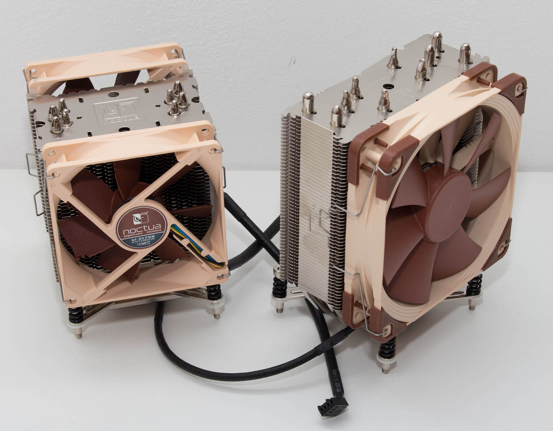 Noctua NH-U12DX i4 & U9DX i4 test