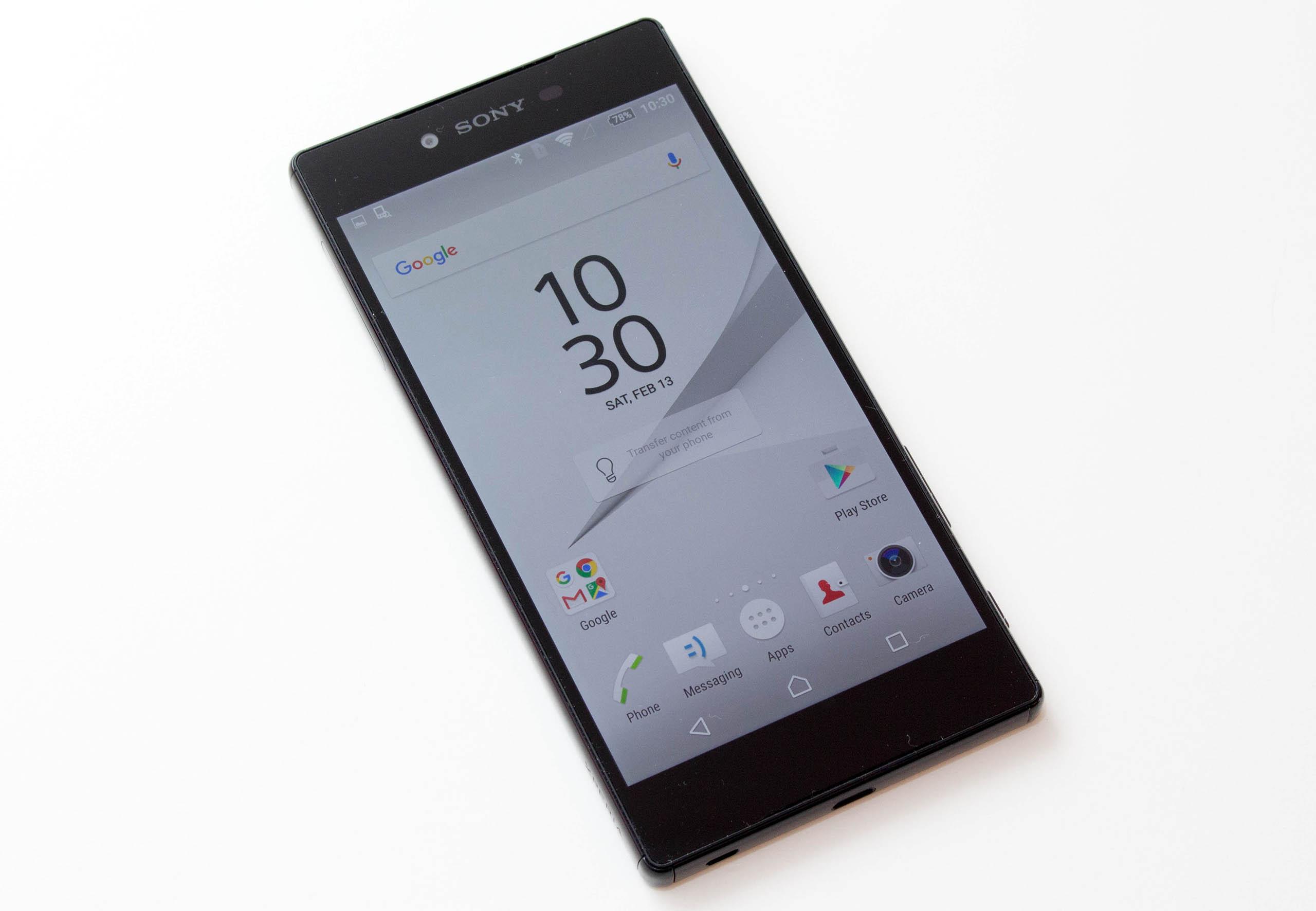 Sony Xperia Z5 Premium test