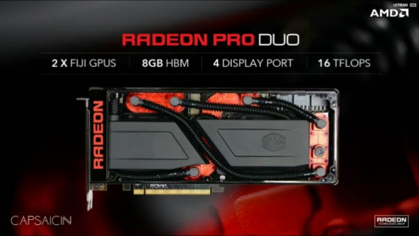 AMD predstavio Radeon Pro Duo karticu