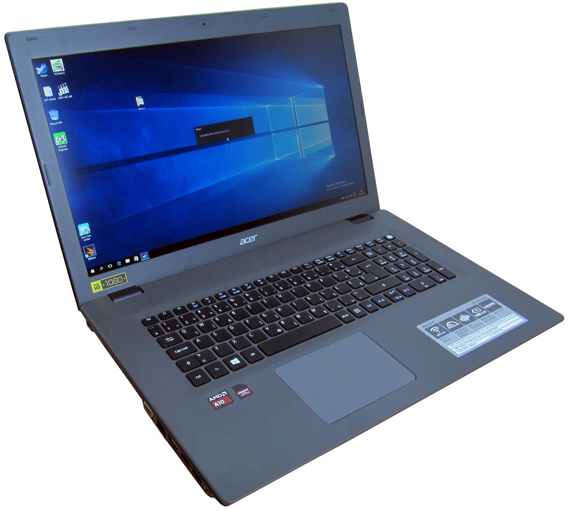 Acer Aspire E5 752G – napokon Carrizo