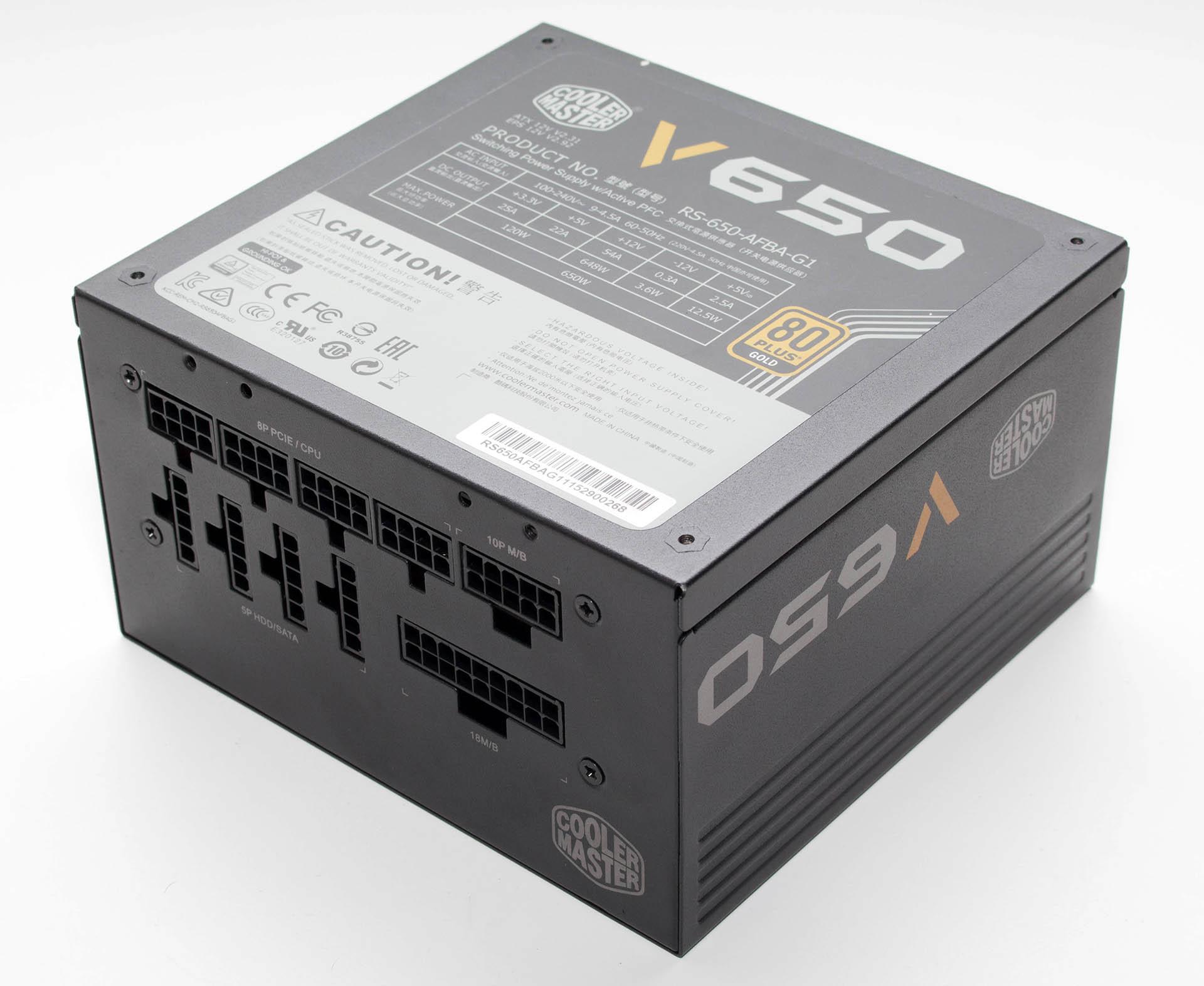 Coolermaster V650 test