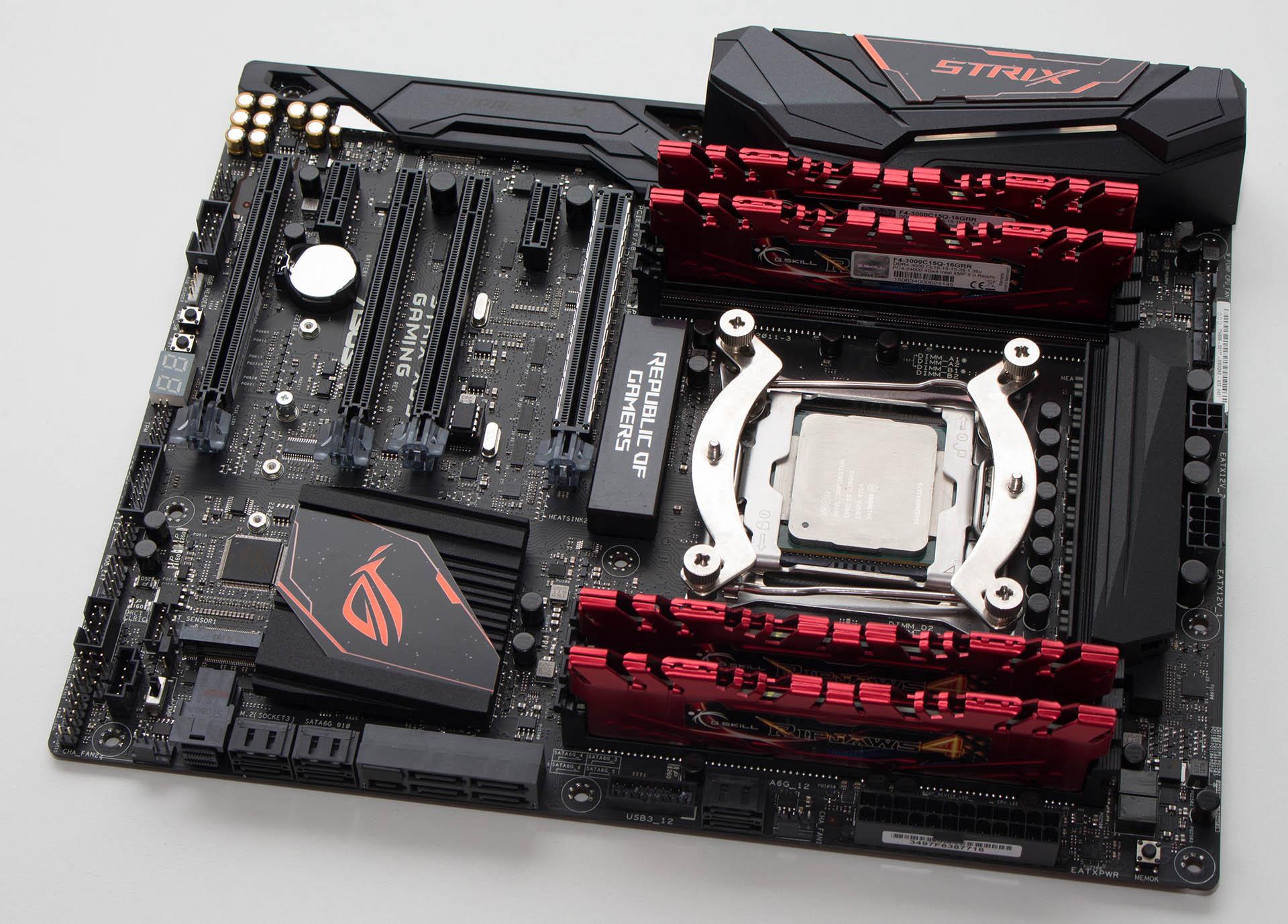Asus Strix X99 Gaming – brzi test