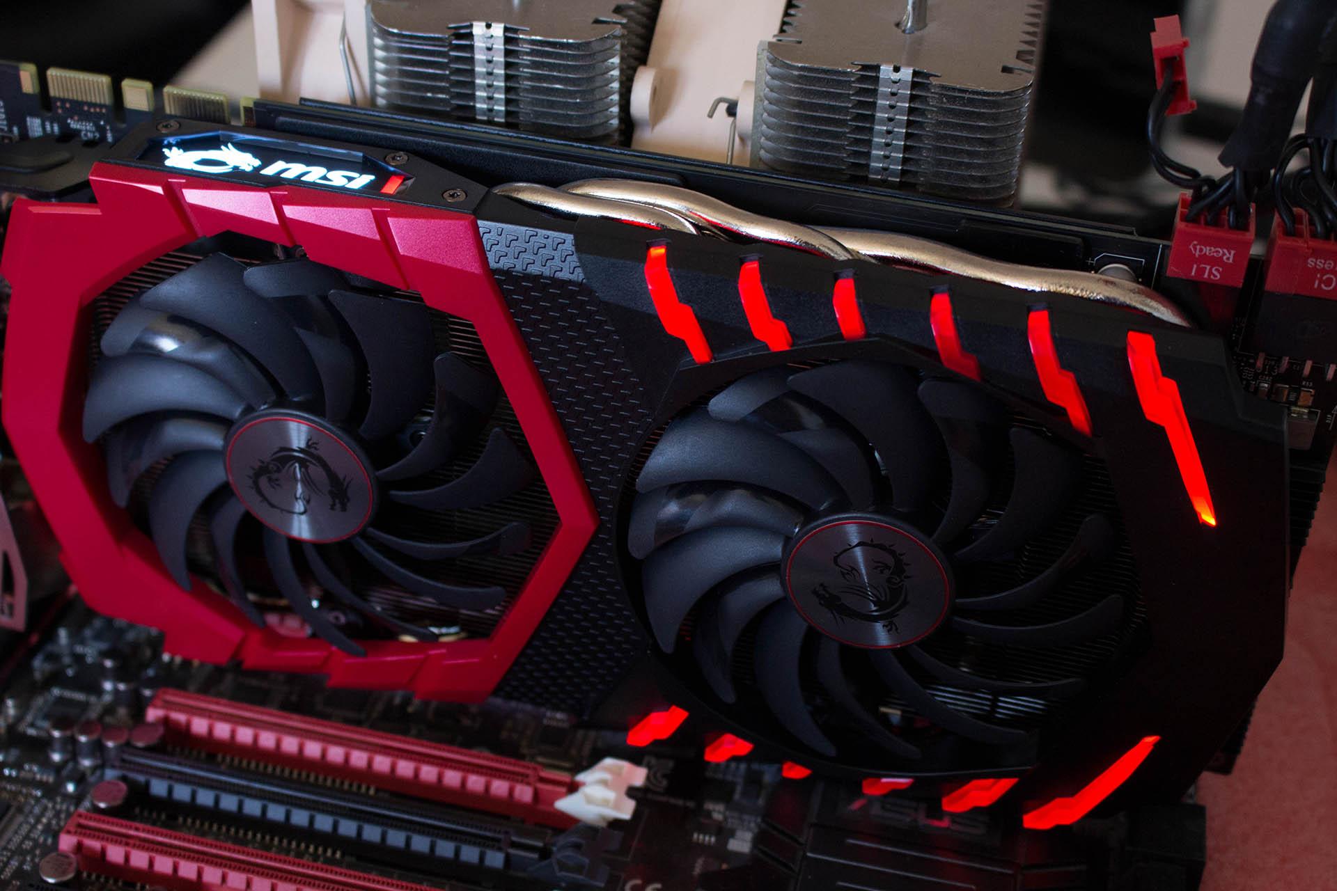 MSI GeForce GTX1080 Gaming X test