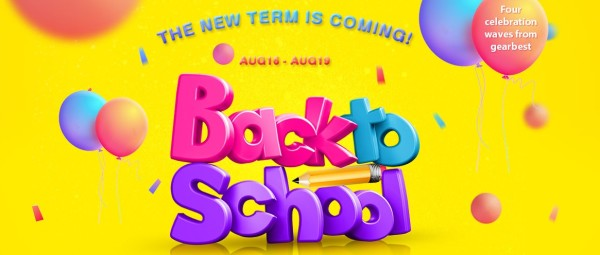 Gearbest Back to School promocija