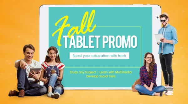 Gearbest Fall tablet promo