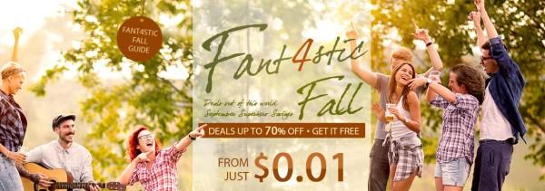 Fantastic 4 Fall promocija na Gearbestu
