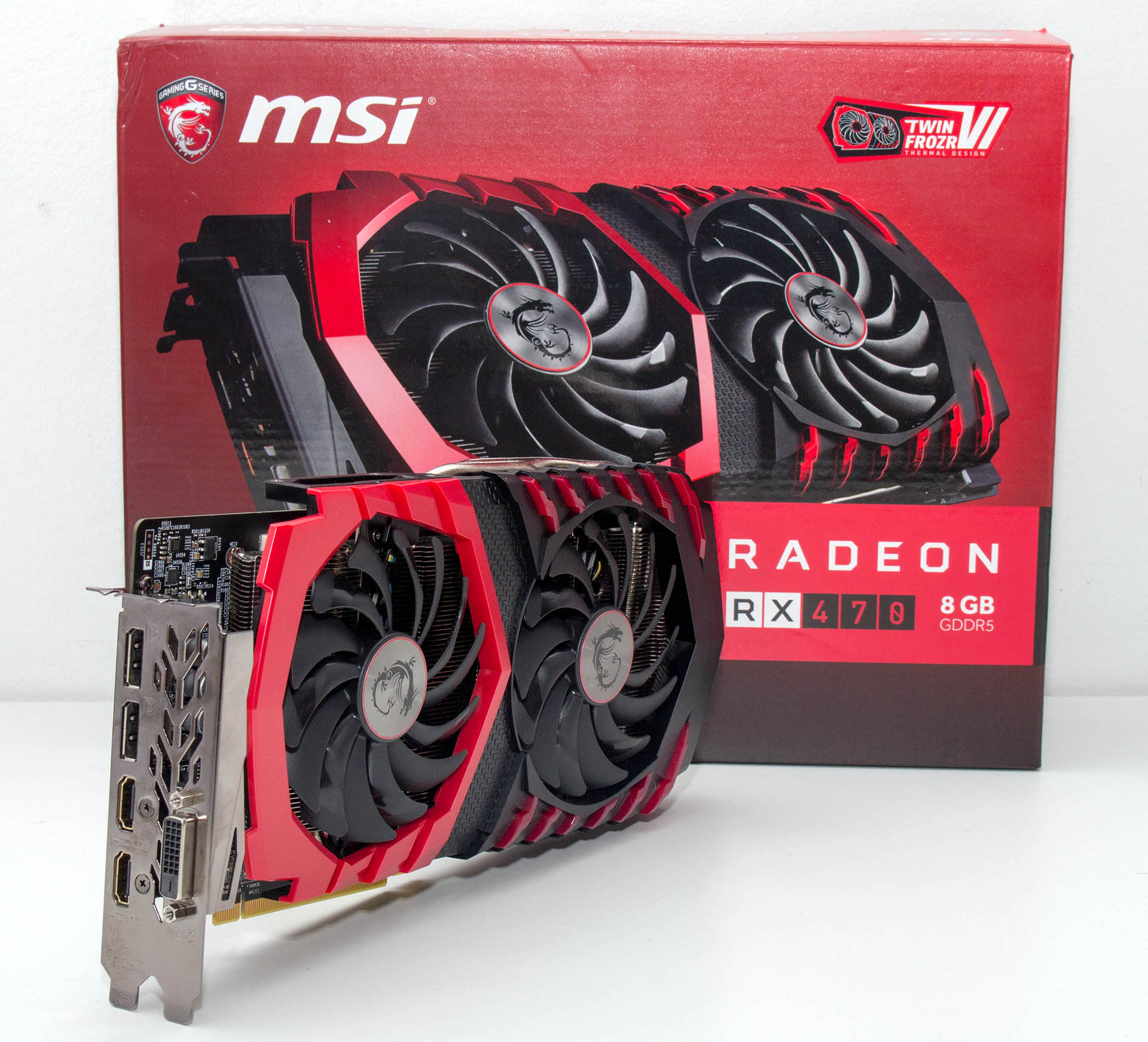 MSI Radeon RX470 8GB Gaming X test