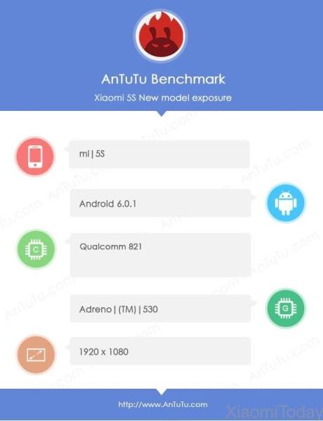 Xiaomi MI 5S: Snapdragon 821, ID ultrazvučna tehnologija