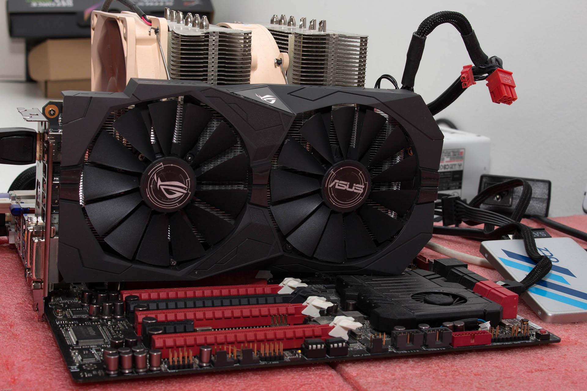 ASUS STRIX GTX1050 Ti OC recenzija