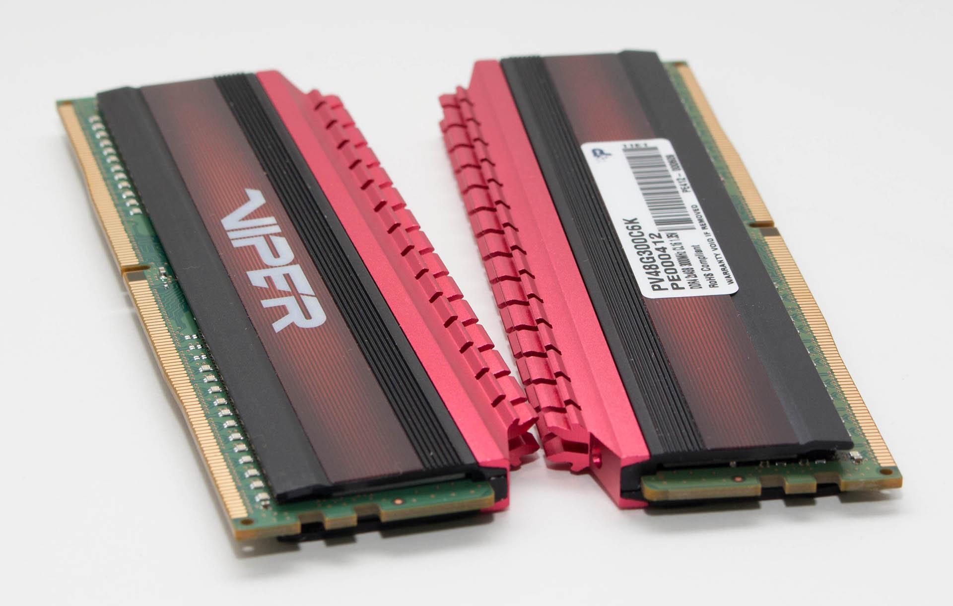 Patriot Viper 8GB DDR4 3000MHz recenzija