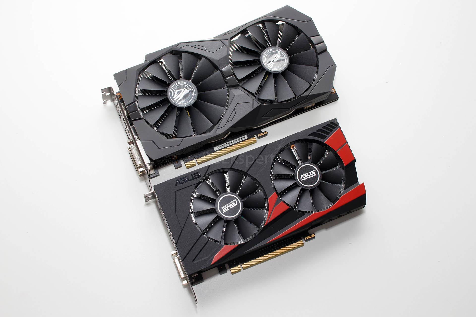 ASUS STRIX GTX1050 OC & EXPEDITION GTX1050 recenzija