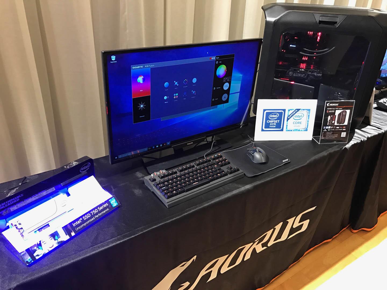 Gigabyte predstavio Aorus proizvode na Dreamhack-u 2017.