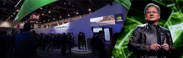 Nvidia na CES-u 2017.