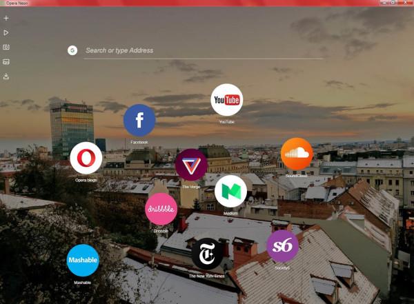 Isprobajte Opera Neon web preglednik budućnosti – mi jesmo