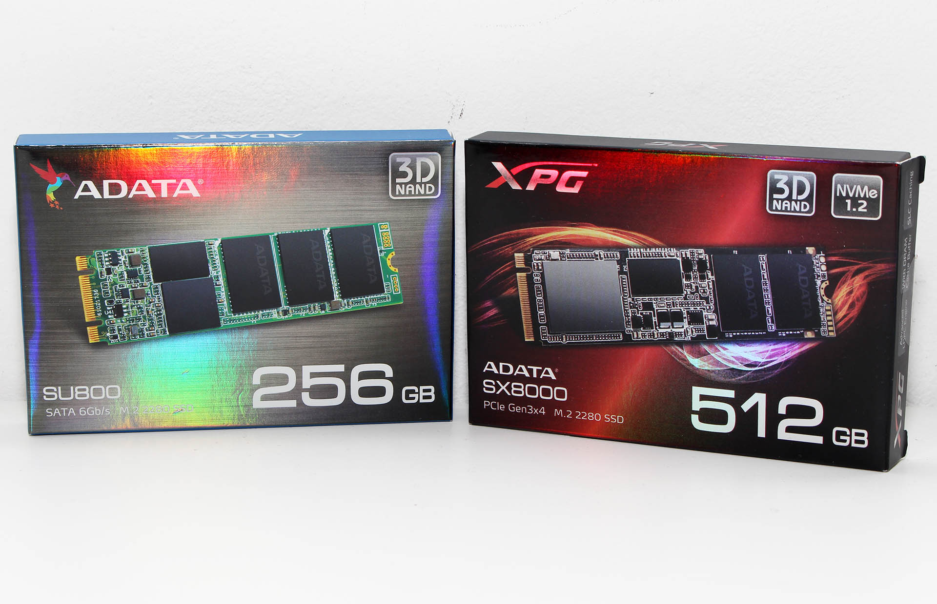 ADATA XPG SX8000 512 GB & Ultimate SU800 256 GB recenzija