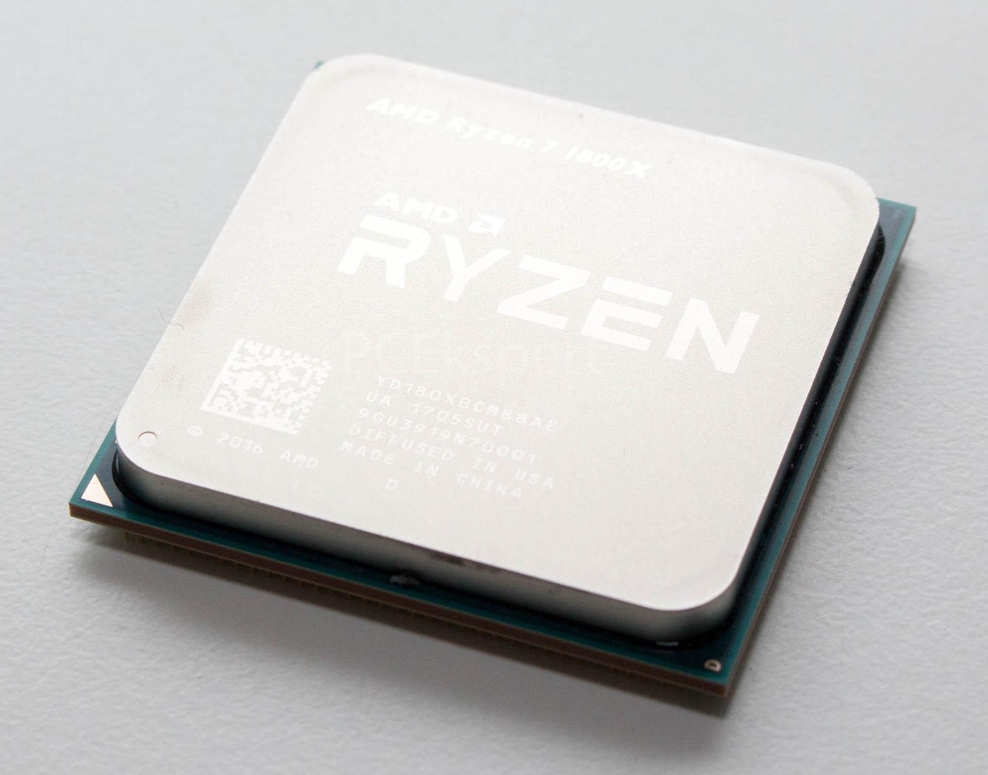 AMD Ryzen 7 1800X recenzija