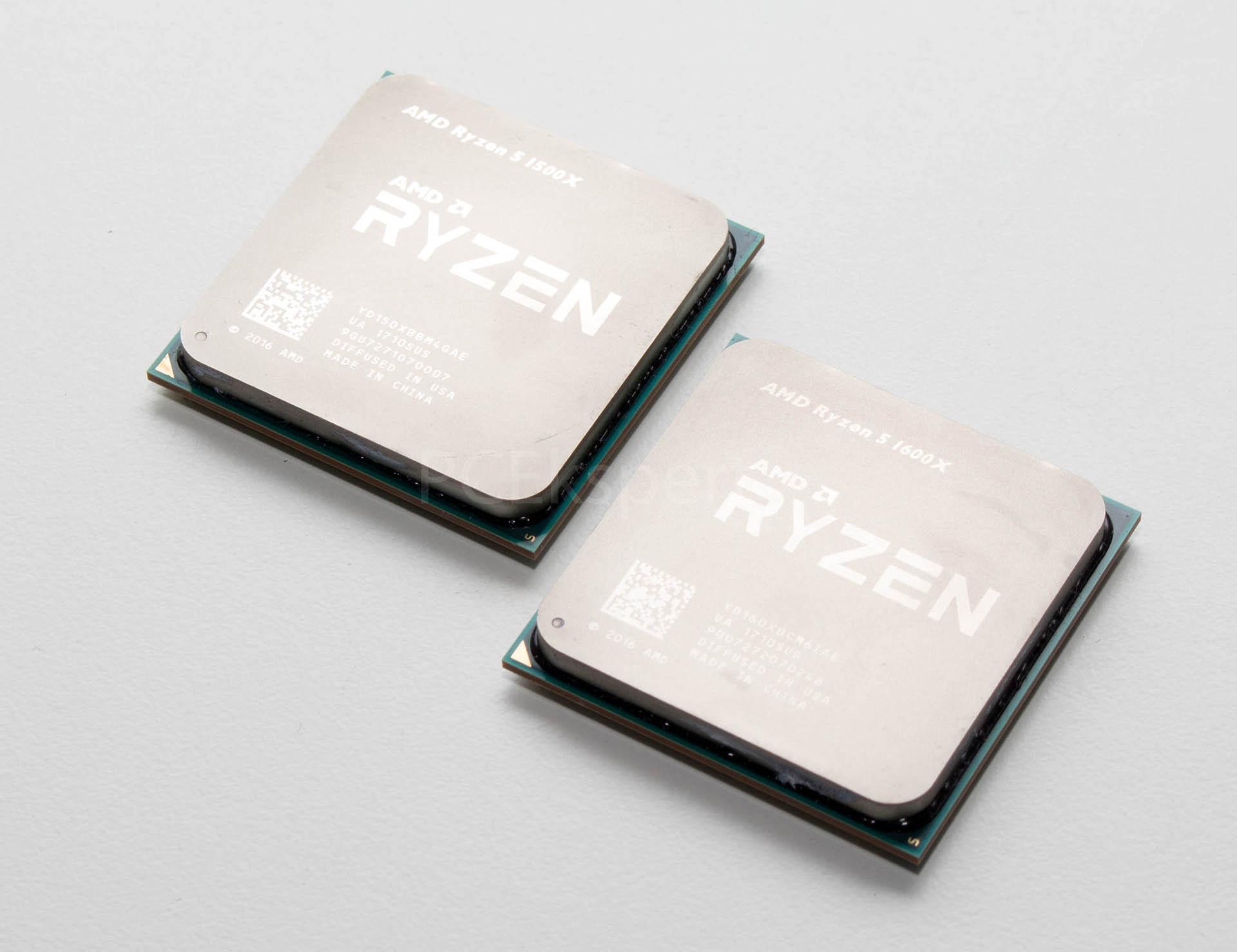 AMD Ryzen 5 1600X & 1500X recenzija