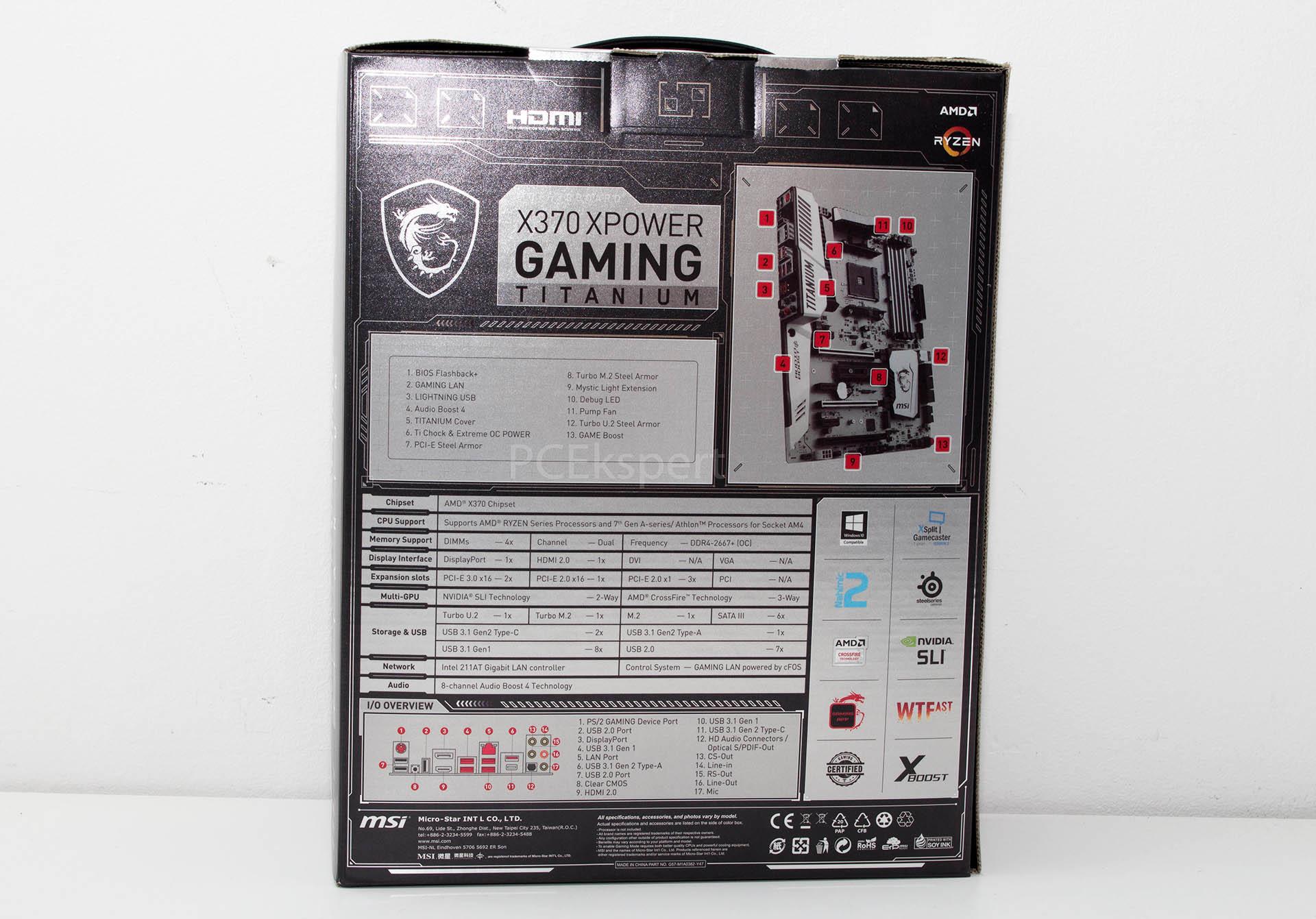 msi x370 xpower gaming titanium manual