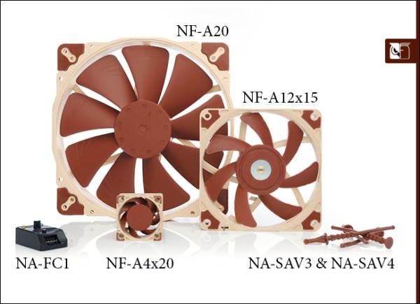 Noctua predstavlja nove ventilatore A serije