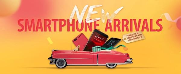 Novi pametni telefoni u Gearbestu