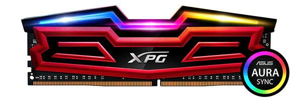 ADATA XPG SPECTRIX D40 podržava ASUS AURA Sync