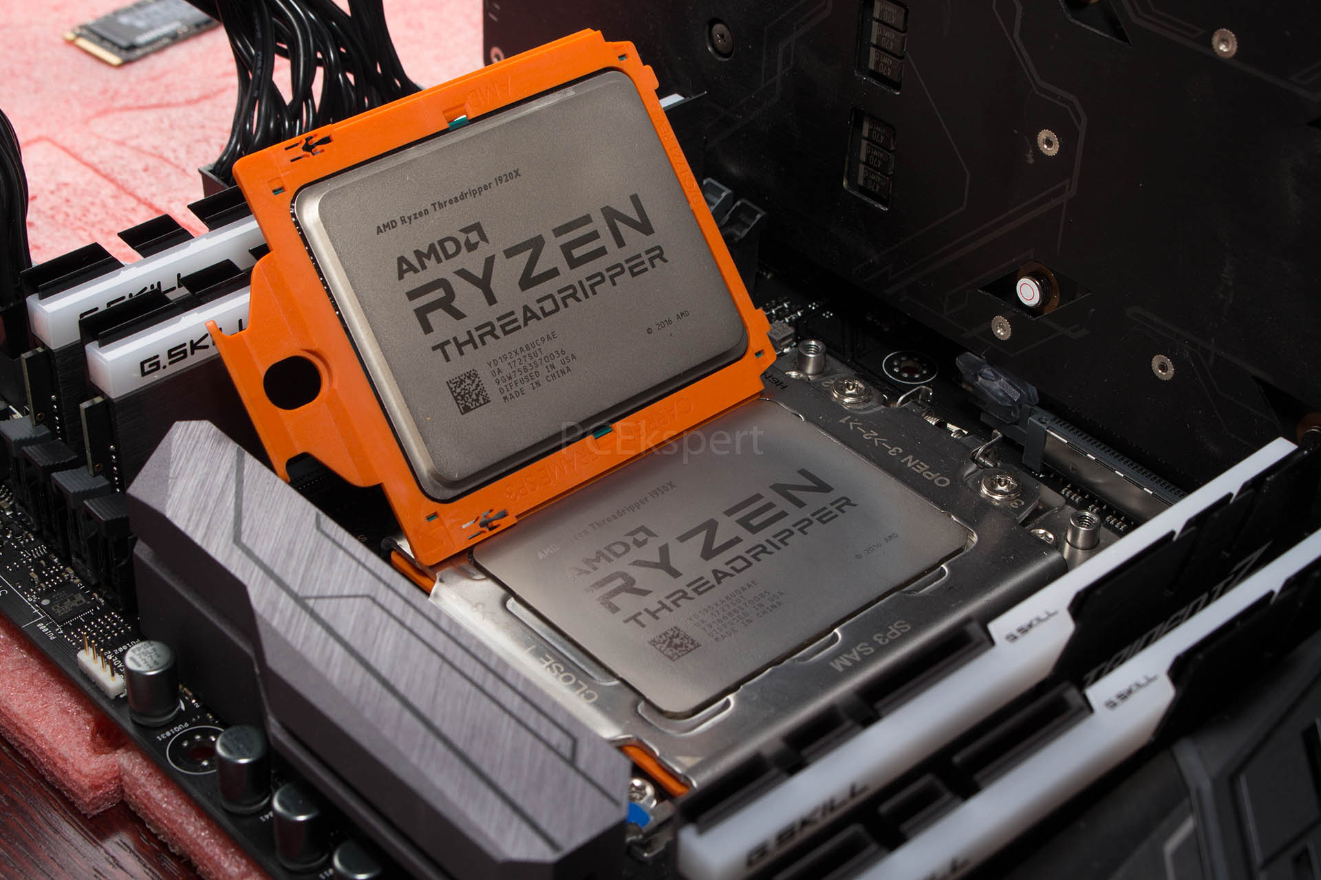 AMD Ryzen Threadripper 1950X & 1920X recenzija