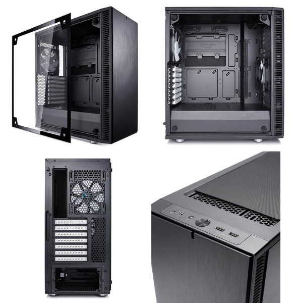 Fractal Define C Tempered Glass