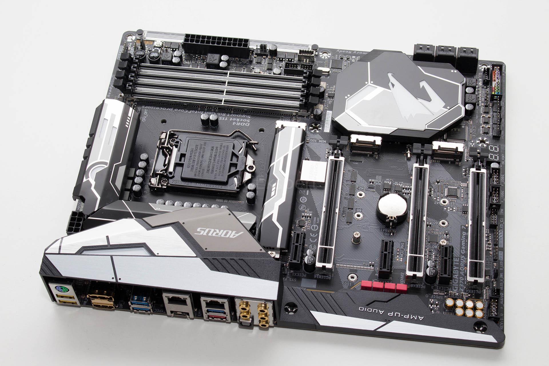PC Ekspert - Hardware EZine - Gigabyte Z370 Aorus Gaming 7 recenzija