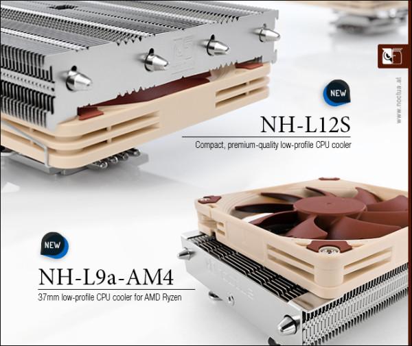 Noctua predstavila dva low profile hladnjaka za AM4