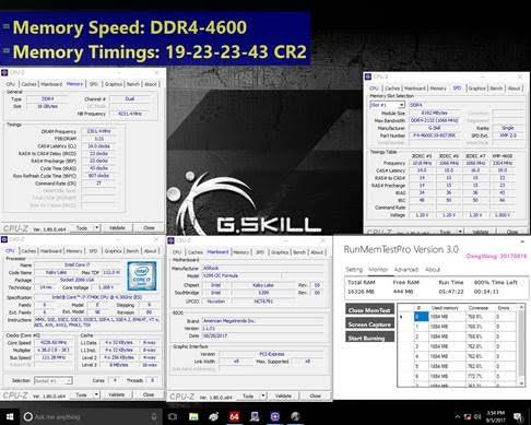 G.SKILL Trident Z DDR4-4600MHz