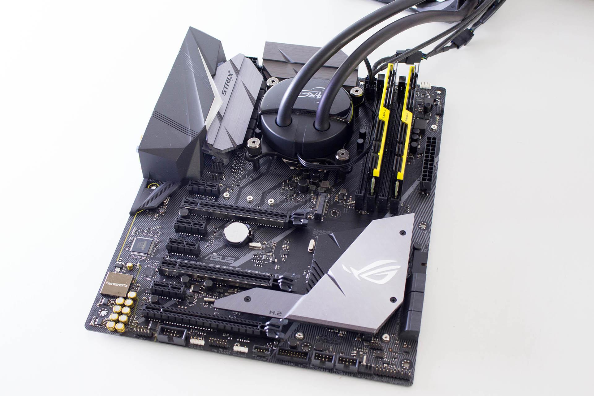 ASUS ROG STRIX Z370-F Gaming recenzija