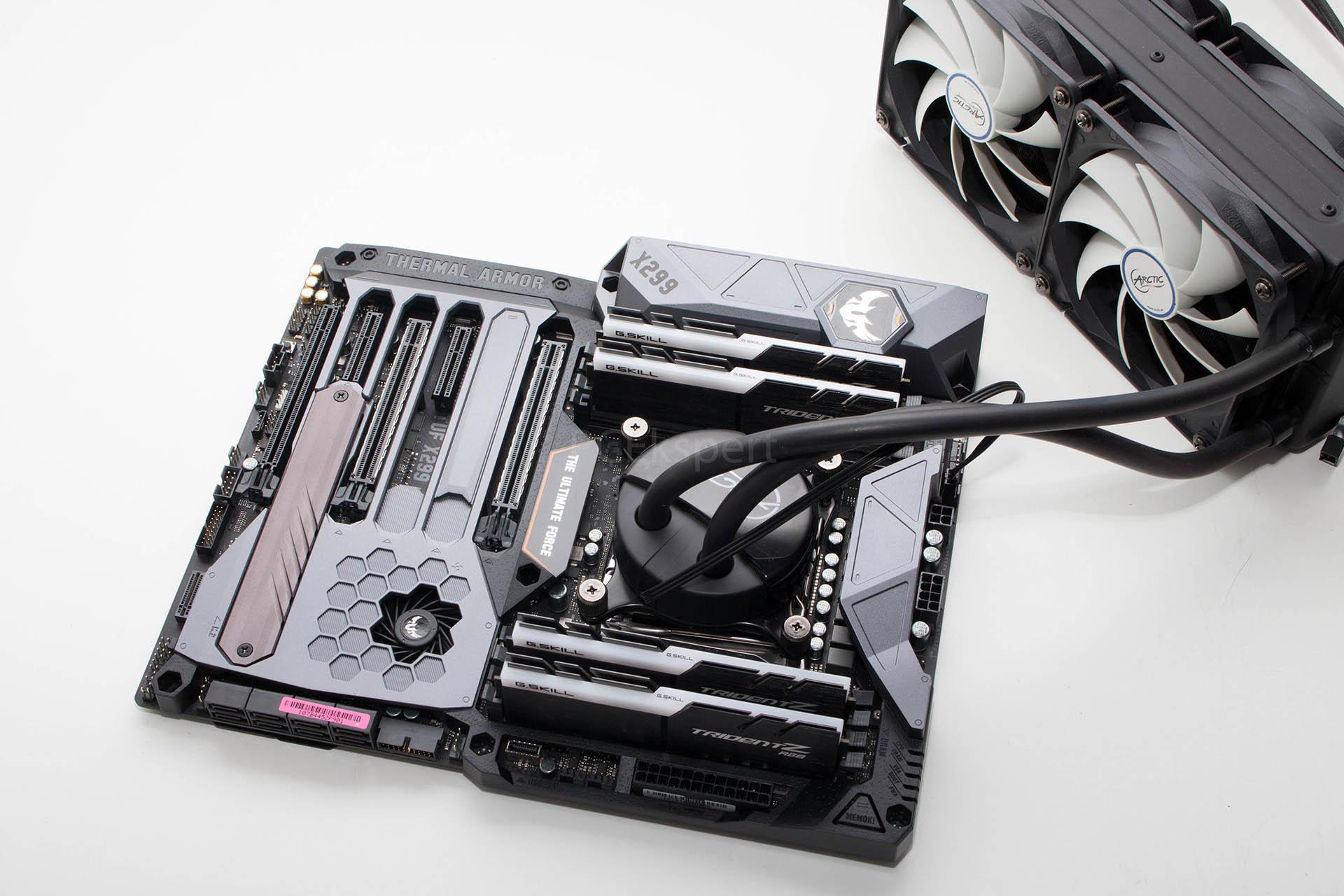 Brzi test – ASRock X299 Gaming i9, ASUS TUF X299 Mark I & STRIX X299-E Gaming