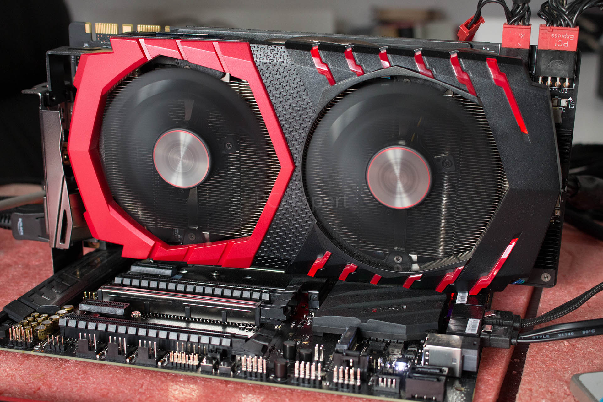 MSI GeForce GTX1070 Ti Gaming X 8GB recenzija