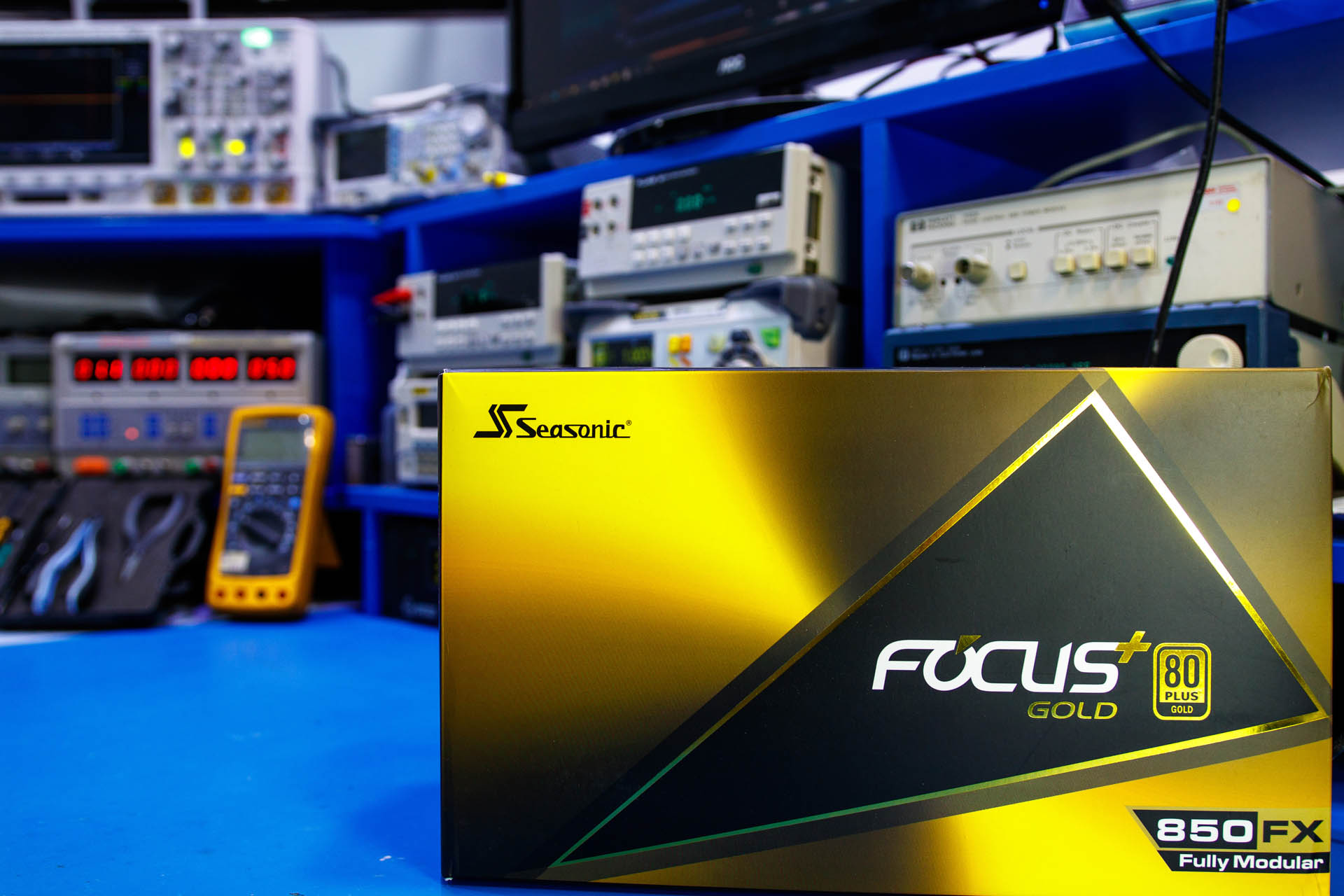 Seasonic FOCUS Plus Gold 850FX recenzija