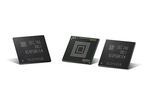 Samsung eUFS 512 GB