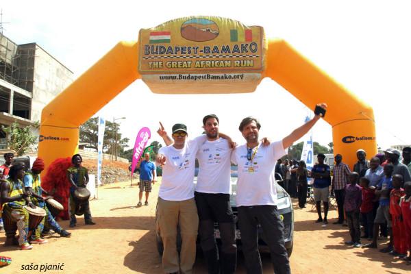 Hrvatski Team Tesla s velikim uspjehom završio Budapest-Bamako rally