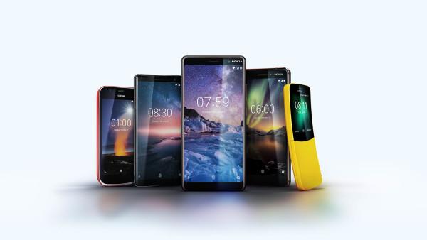 Predstavljeno pet novih Nokia mobitela