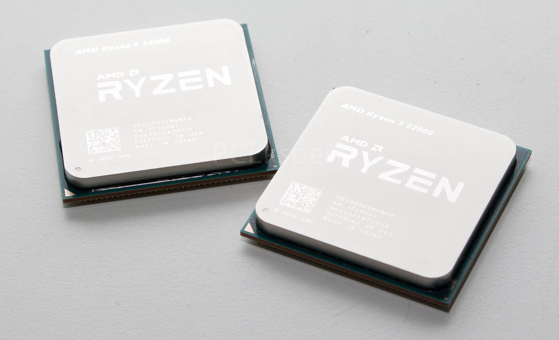 AMD Ryzen 5 2400G & Ryzen 3 2200G recenzija