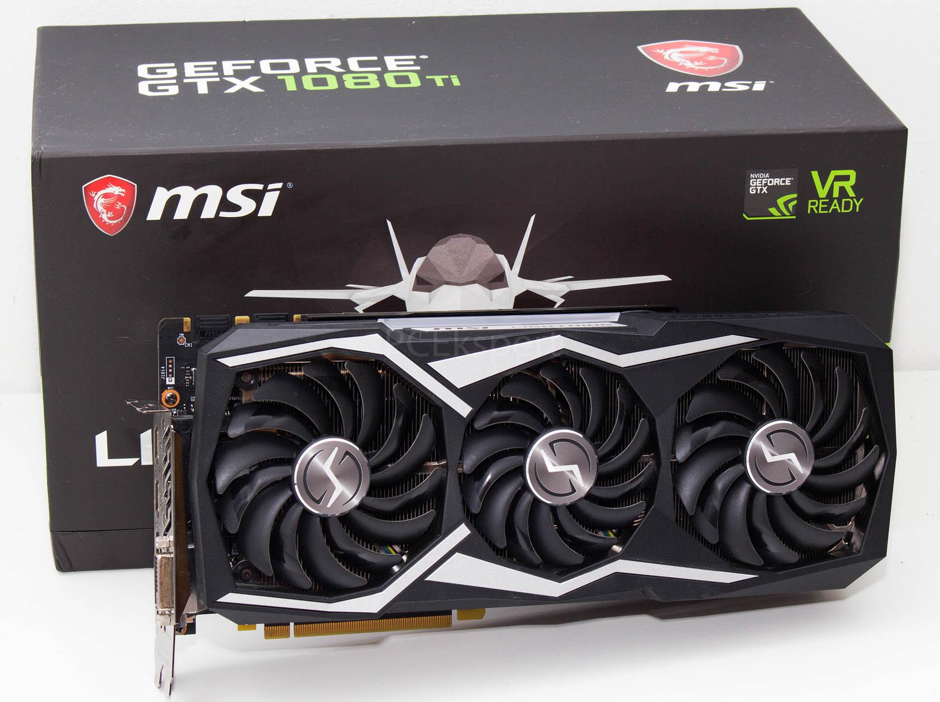 MSI GeForce GTX 1080 Ti Lightning recenzija
