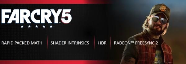 Far Cry 5 uz Radeon RX 580, RX Vega 56 i RX Vega 64 kartice