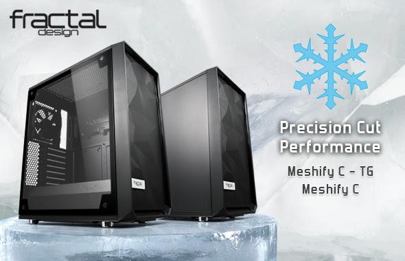 Fractal Design Meshify C & TG