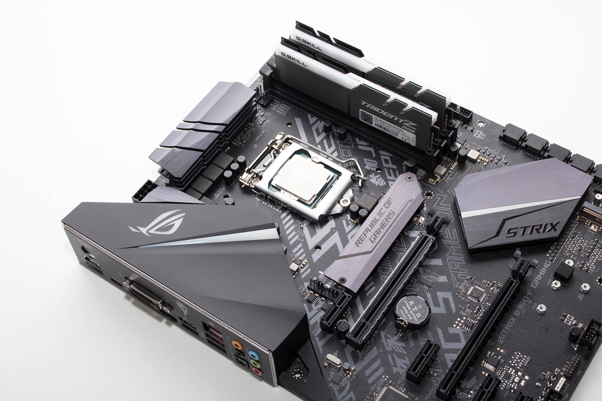 ASUS ROG STRIX B360-F Gaming recenzija