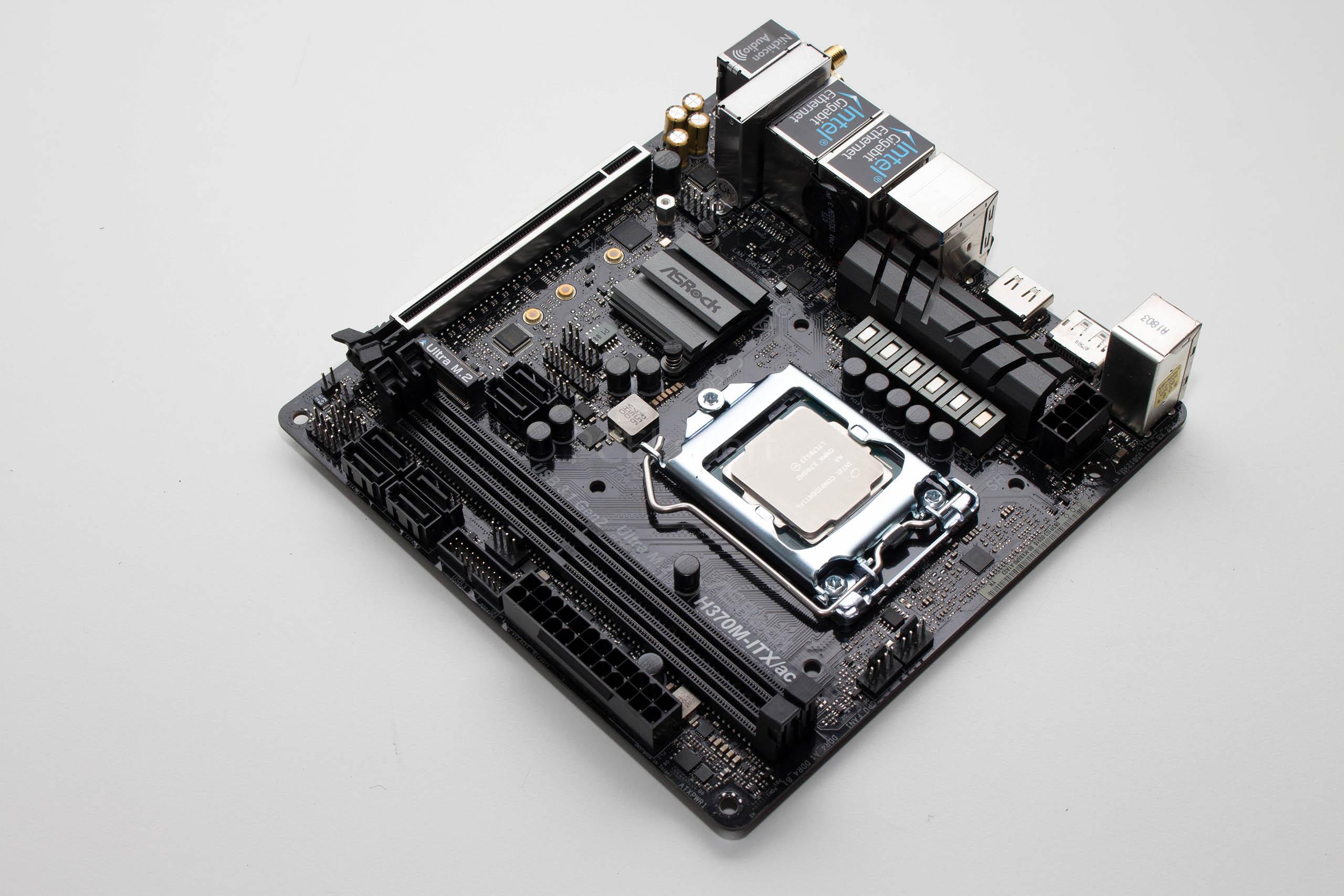ASRock H370M-ITX/ac recenzija