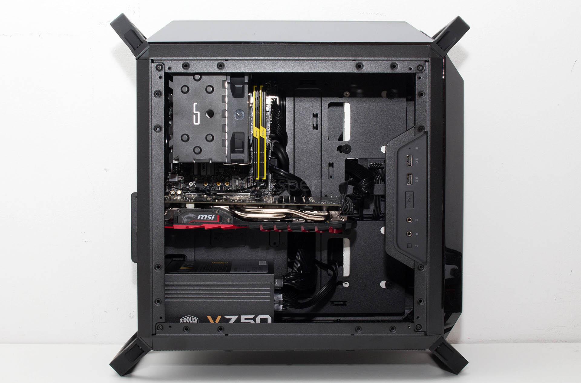 CoolerMaster Q300P & V750 recenzija