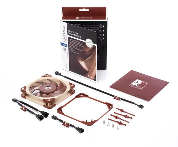 Noctua predstavila novu generaciju NF-A12x25 ventilatora