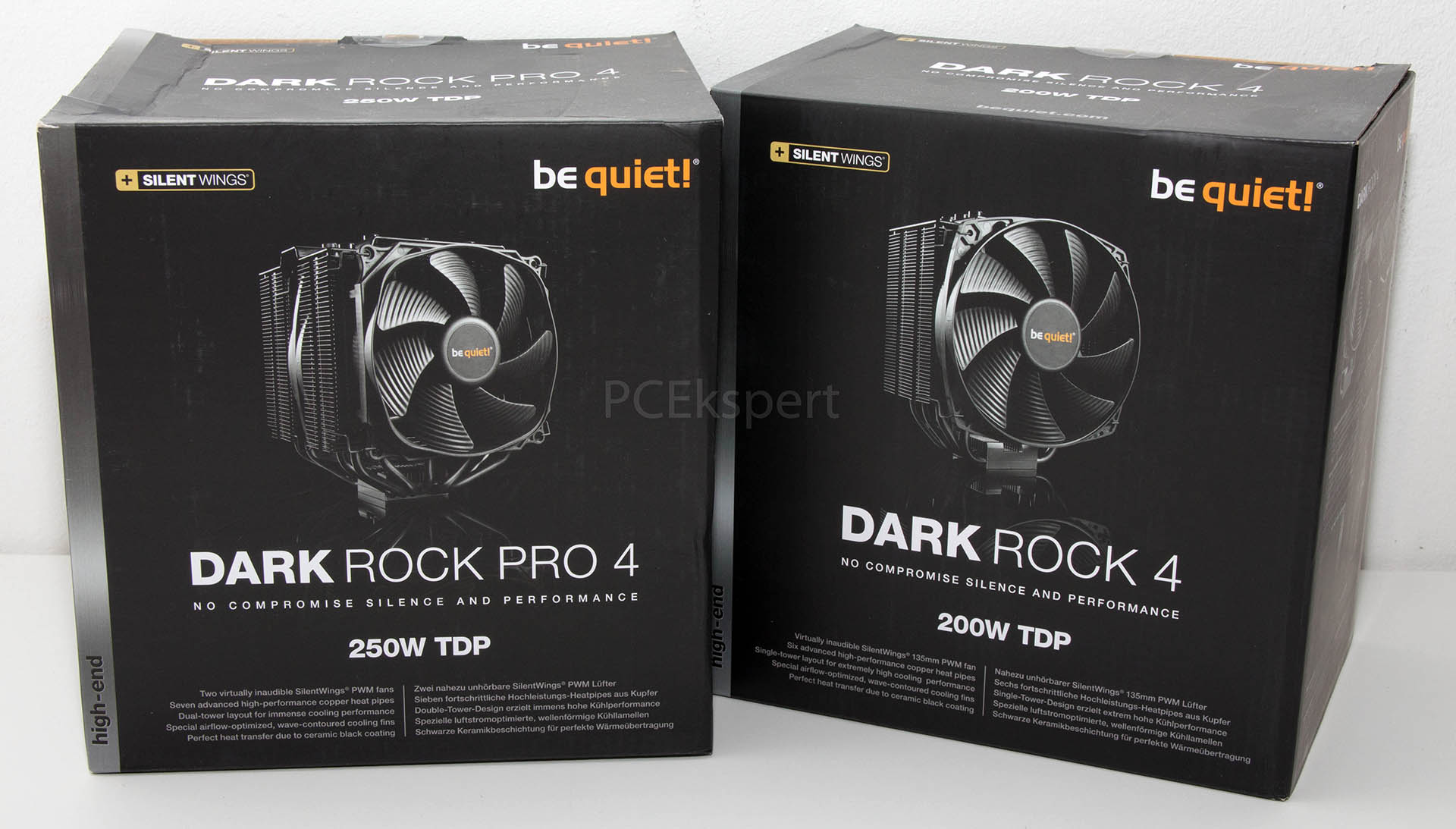 Be Quiet! Dark Rock Pro 4 & Dark Rock 4 recenzija