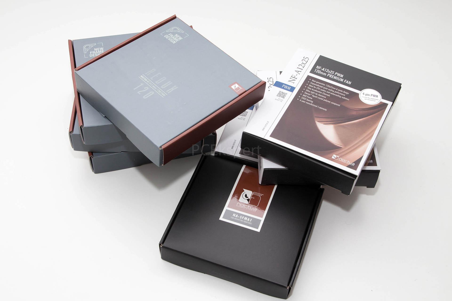 Brzi test - Noctua NF-A12x25 i NF-P12 Redux ventilatori